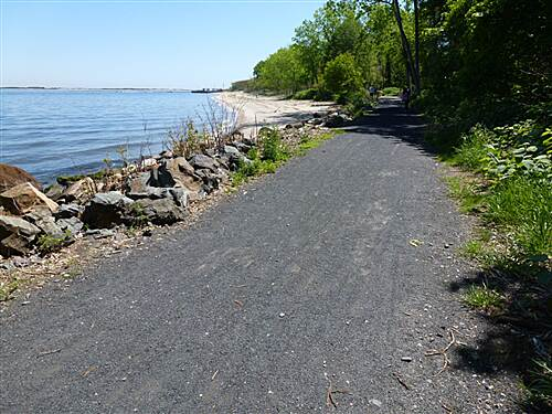 Bayshore Trail (Henry Hudson Trail)  Great ride along the water!