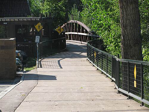 Bear Creek Trail (Denver) Bear Creek Trail in Colorado This bridge is near the western end of the trail, in Morrison, CO.