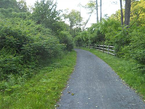 Bellefonte Central Rail Trail The trail
