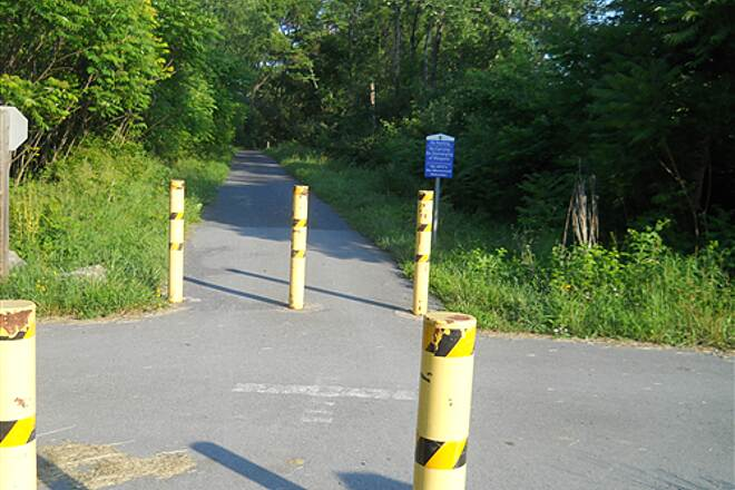 Bellefonte Central Rail Trail Trail crossing