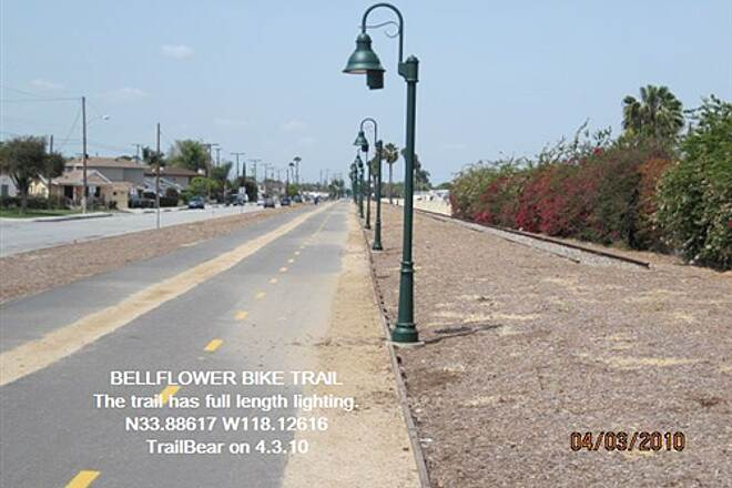 Bellflower Bike Trail BELLFLOWER BIKE TRAIL By day or by night.