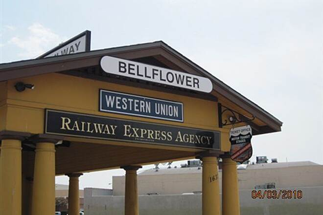 Bellflower Bike Trail BELLFLOWER BIKE TRAIL Makes you want to go in and get a ticket for Riverside.