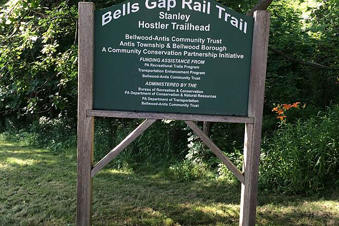 Bells Gap Rail Trail Bells Gap Rail Trail	 brent823