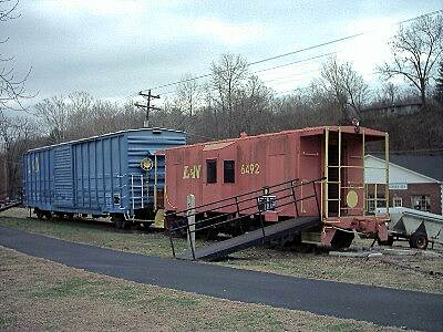 Betsy Ligon Park & Walking Trail Old L&N Rolling Stock This old caboose and boxcar are located next to the pavilion at the town center.