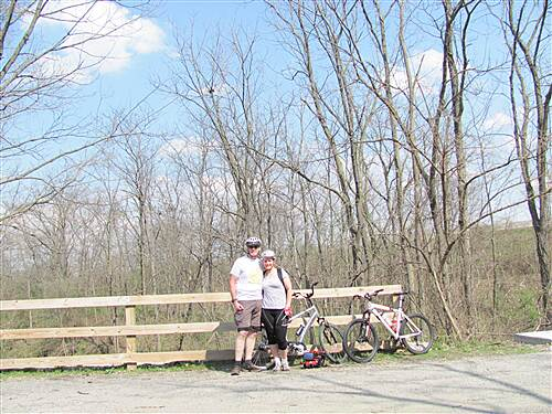 Big 4 Trail (Lebanon to Thorntown) March 20th ride Nice ride