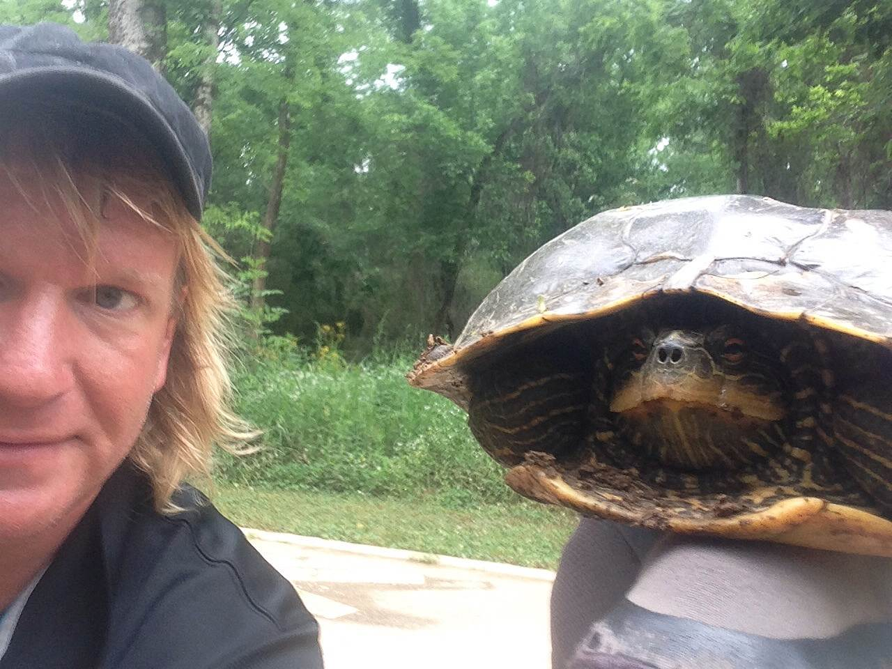 Big Cove Creek Greenway Turtle biking