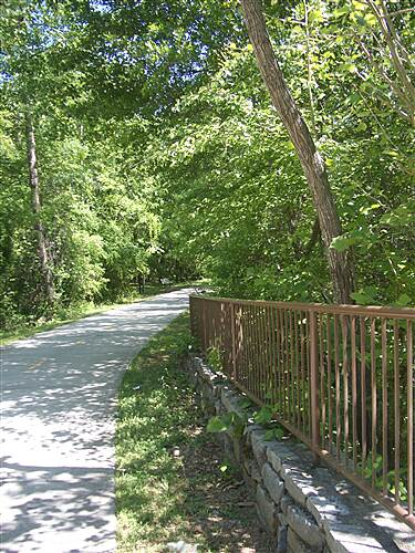 Big Creek Greenway More of the Big Creek Greenway Typical spot along the greenway