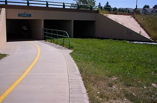 Big Dry Creek Trail (Westminster) Westcliff Underpass Westcliff Underpass