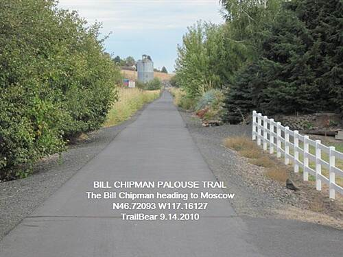 Bill Chipman Palouse Trail BILL CHIPMAN PALOUSE TRAIL Heading to Moscow