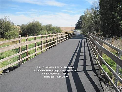 Bill Chipman Palouse Trail BILL CHIPMAN TRAIL Over the bridge and on to Moscow