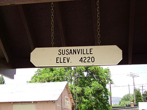 Bizz Johnson National Recreation Trail susanville start or finish of trail