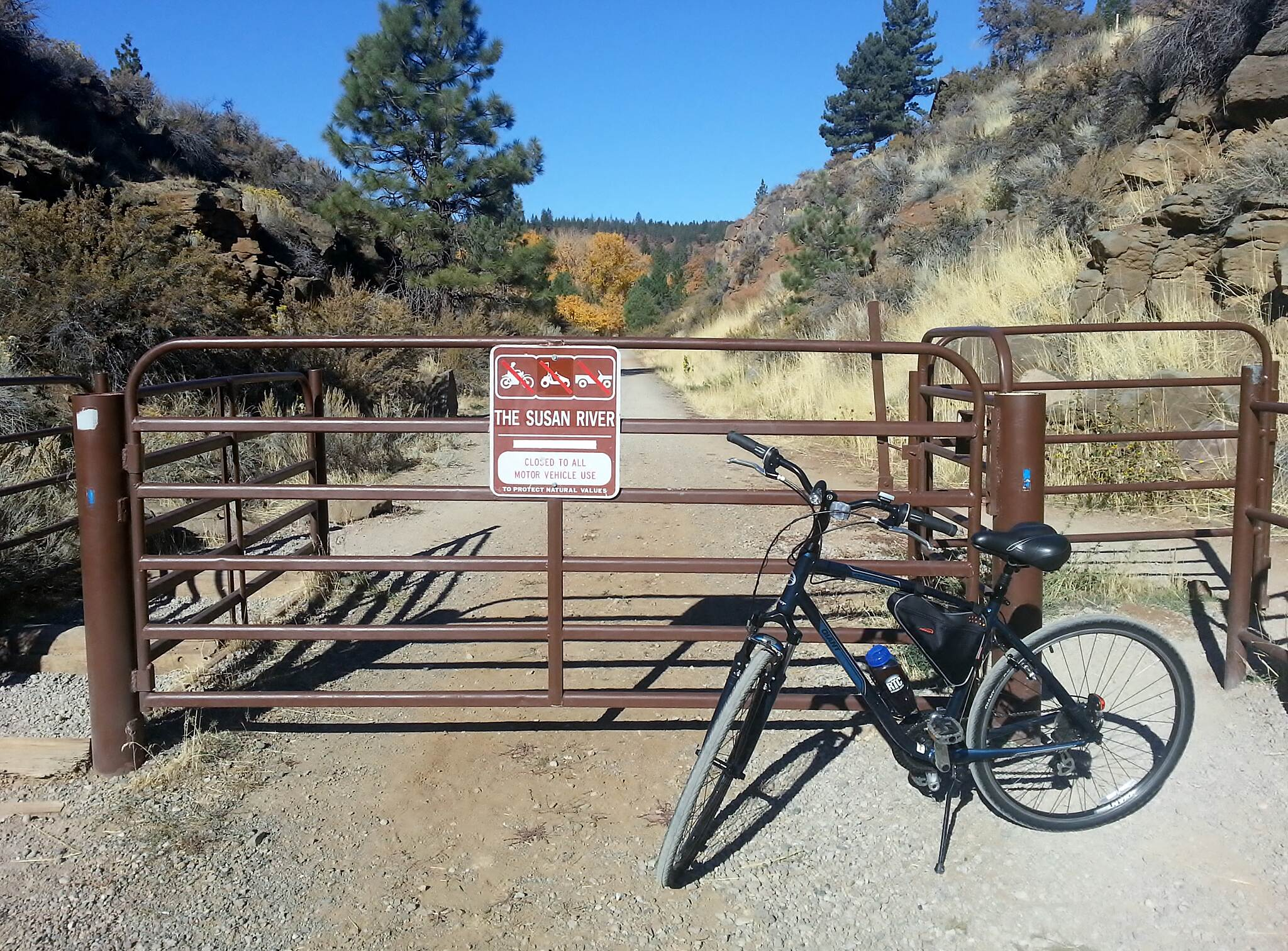 Bizz Johnson National Recreation Trail Near Susanville.