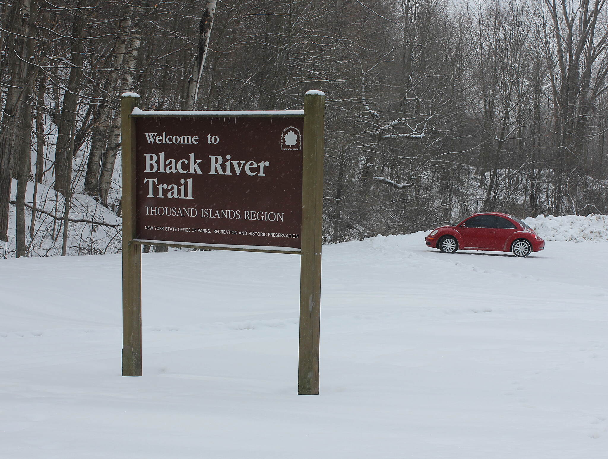 Black River Trail This is Where it Began....... My love of running on trails began during the summer of 2012 when my son introduced me to the Black River Trail in Watertown, NY. The area is so beautiful I wanted to take some winter pictures for your enjoyment. 