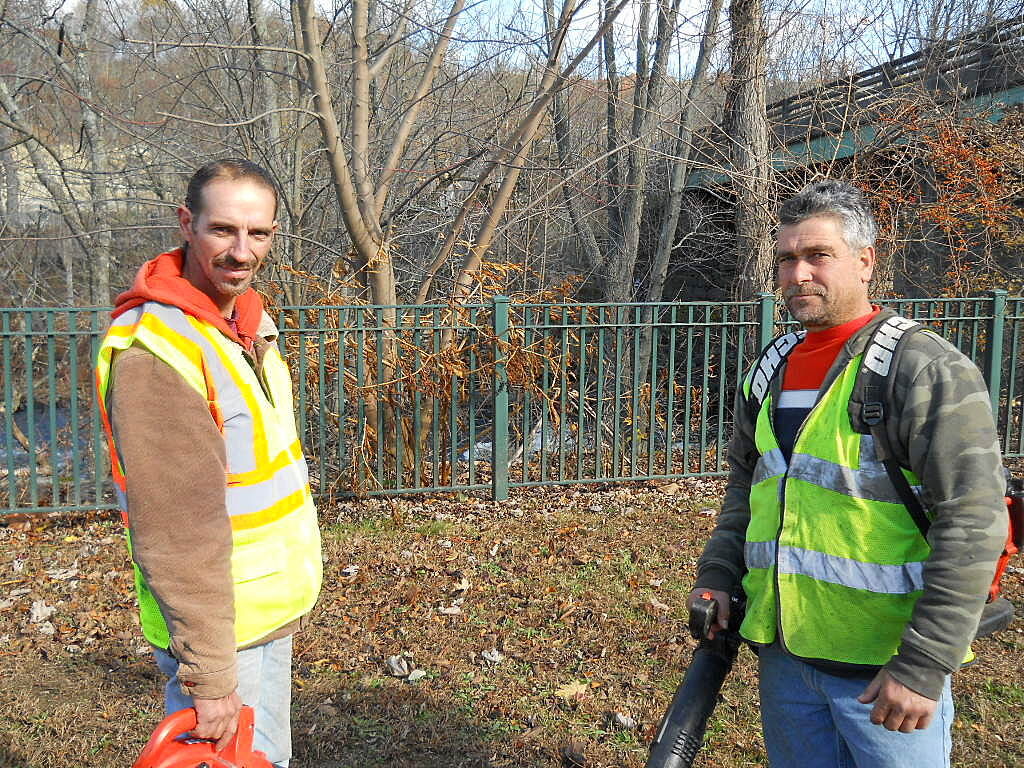 Blackstone River Greenway (MA) Fernando and Mario They keep the trail ship shape.