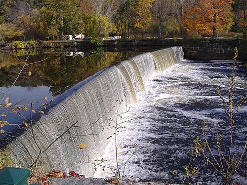 Blackstone River Greenway One of Many Manville Dam