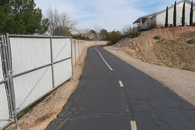 Bloomington Hills North Trail Larkspur Trail Through residential area.
