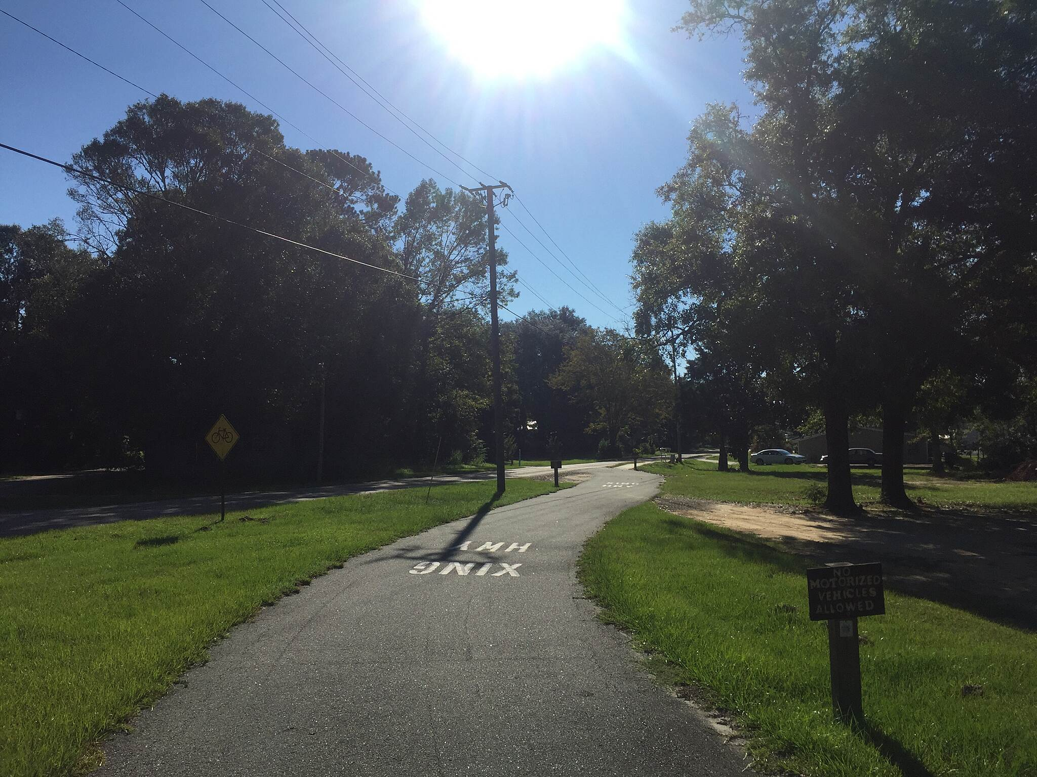 Blountstown Greenway Bike Path Skating the trail