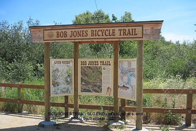Bob Jones City to the Sea Trail BOB JONES TRAIL - AT S.L.O. Nice new info kiosk and maps.