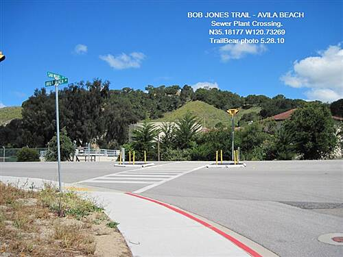 Bob Jones City to the Sea Trail BOB JONES TRAIL - AVILA BEACH, CA Watch traffic at this crossing.