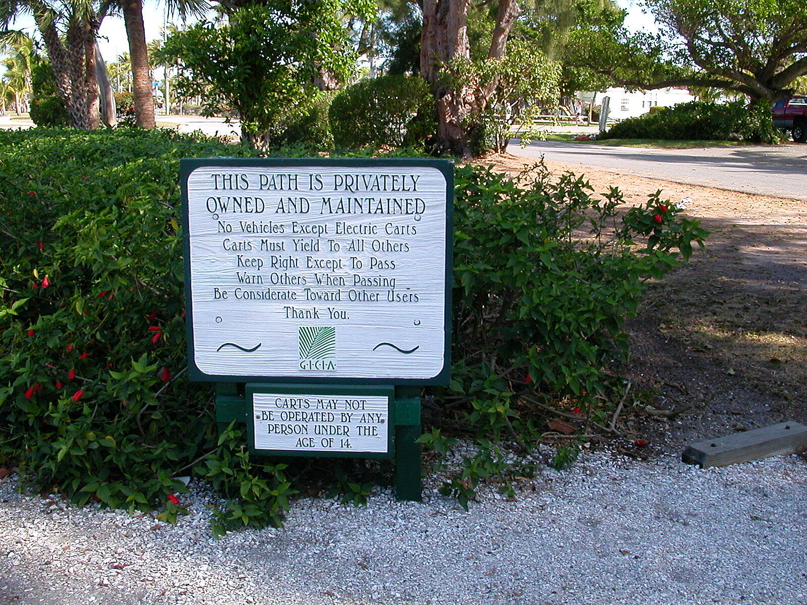 Boca Grande Bike Path Trail Rules