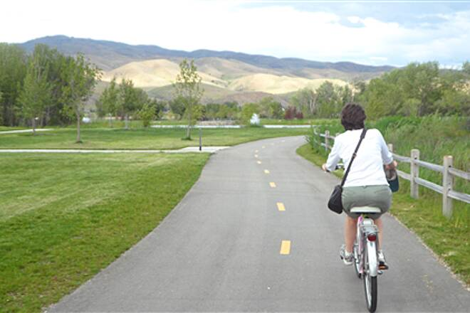 Boise River Greenbelt Brand New Section Just Opened: Bown Xing to Barber Park