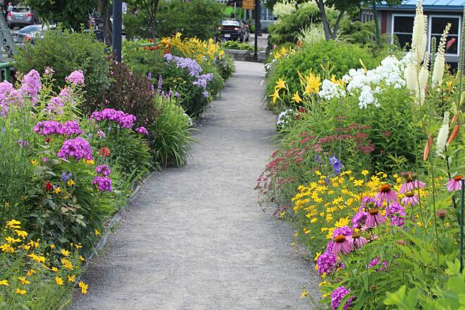 Bridge of Flowers Shelburne Falls, MA 7/21/15