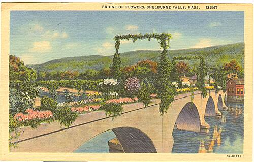 Bridge of Flowers Bridge of Flowers Postcard