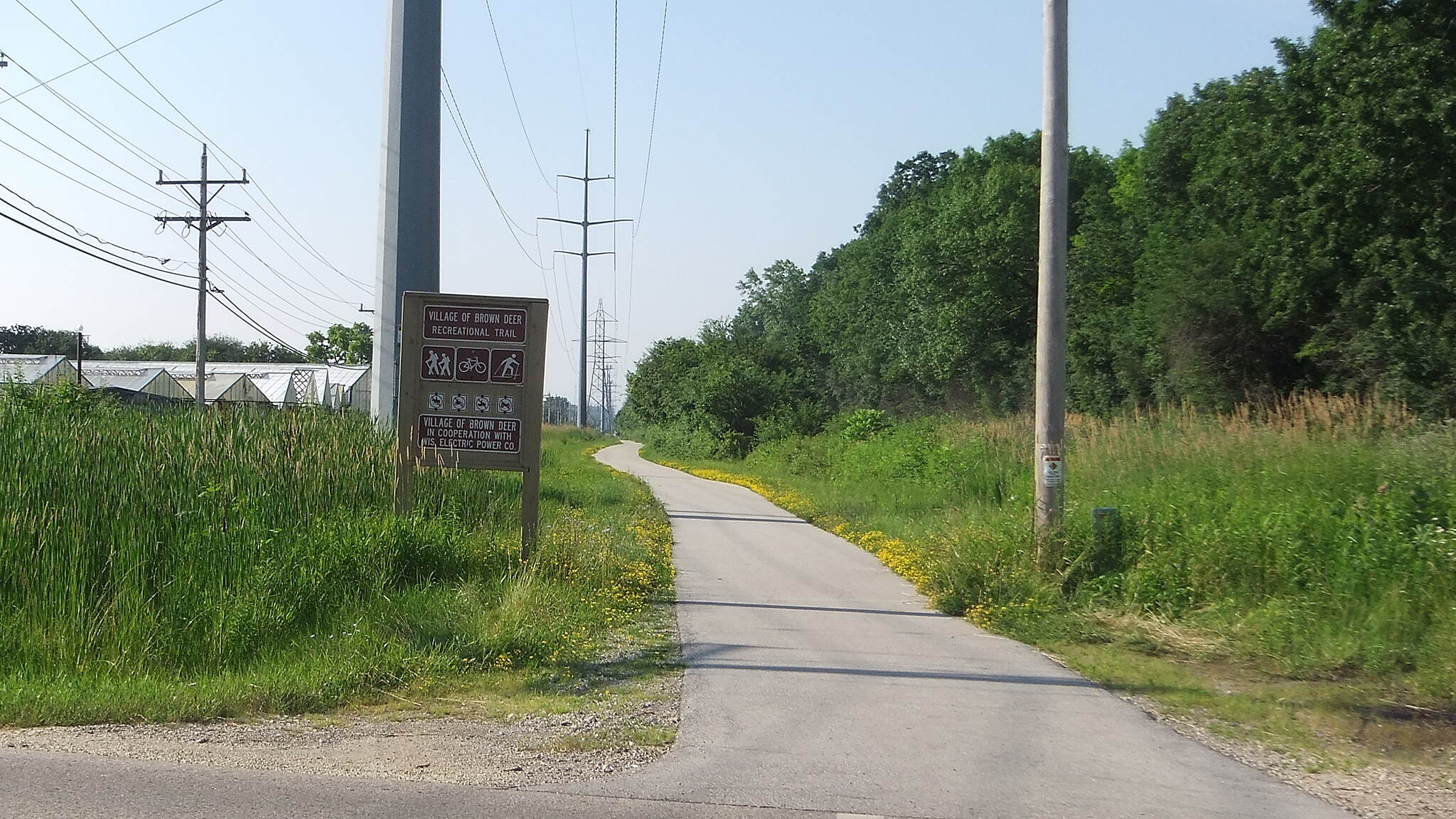 Brown Deer Recreational Trail Ending Point (County Line Rd)