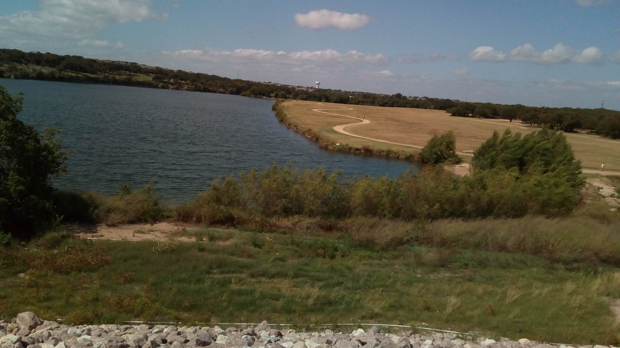 Brushy Creek Regional Trail Brushy Creek Trail View of the trail from the dam