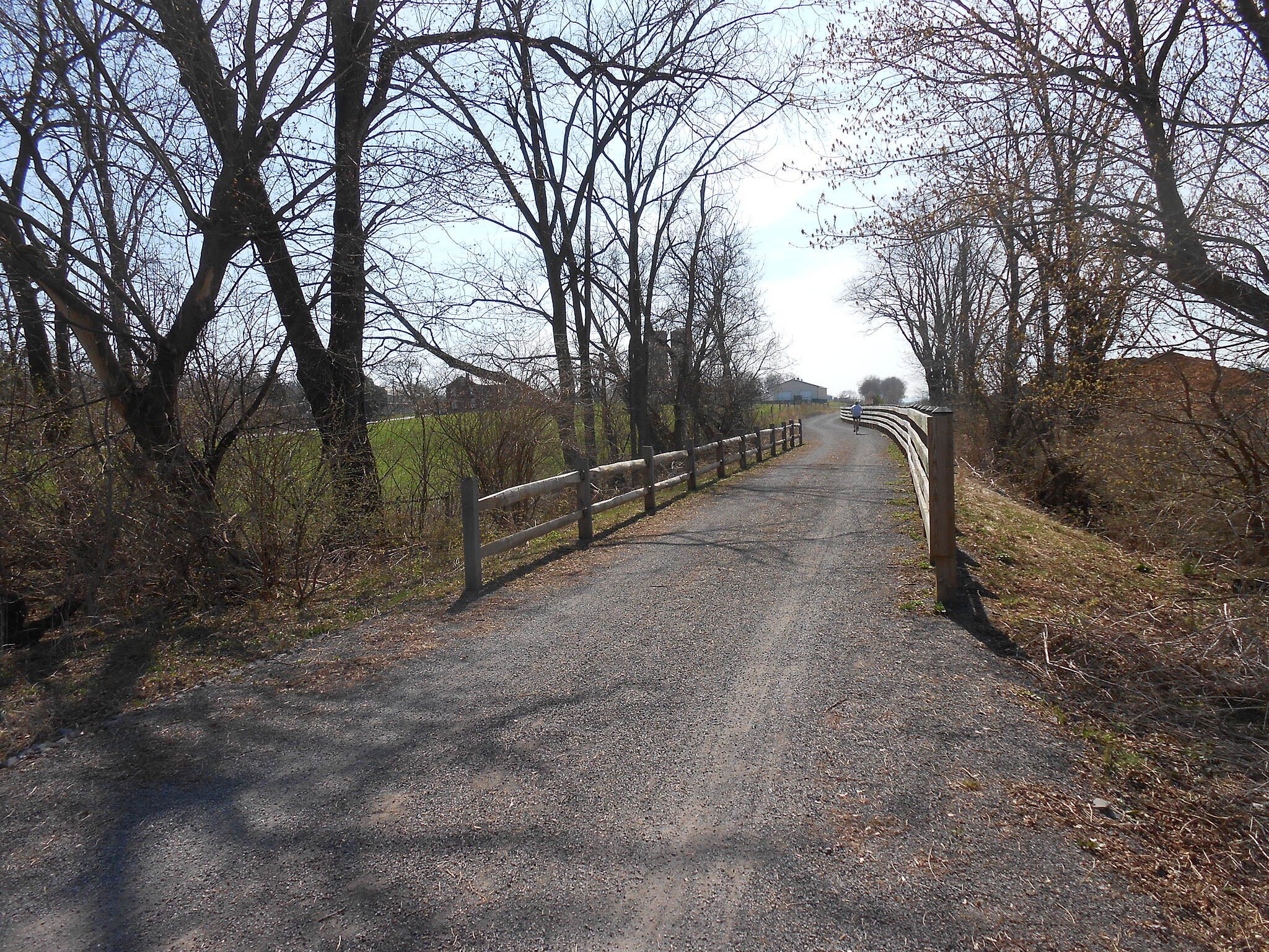 Buffalo Valley Rail Trail Easter Sunday 2014