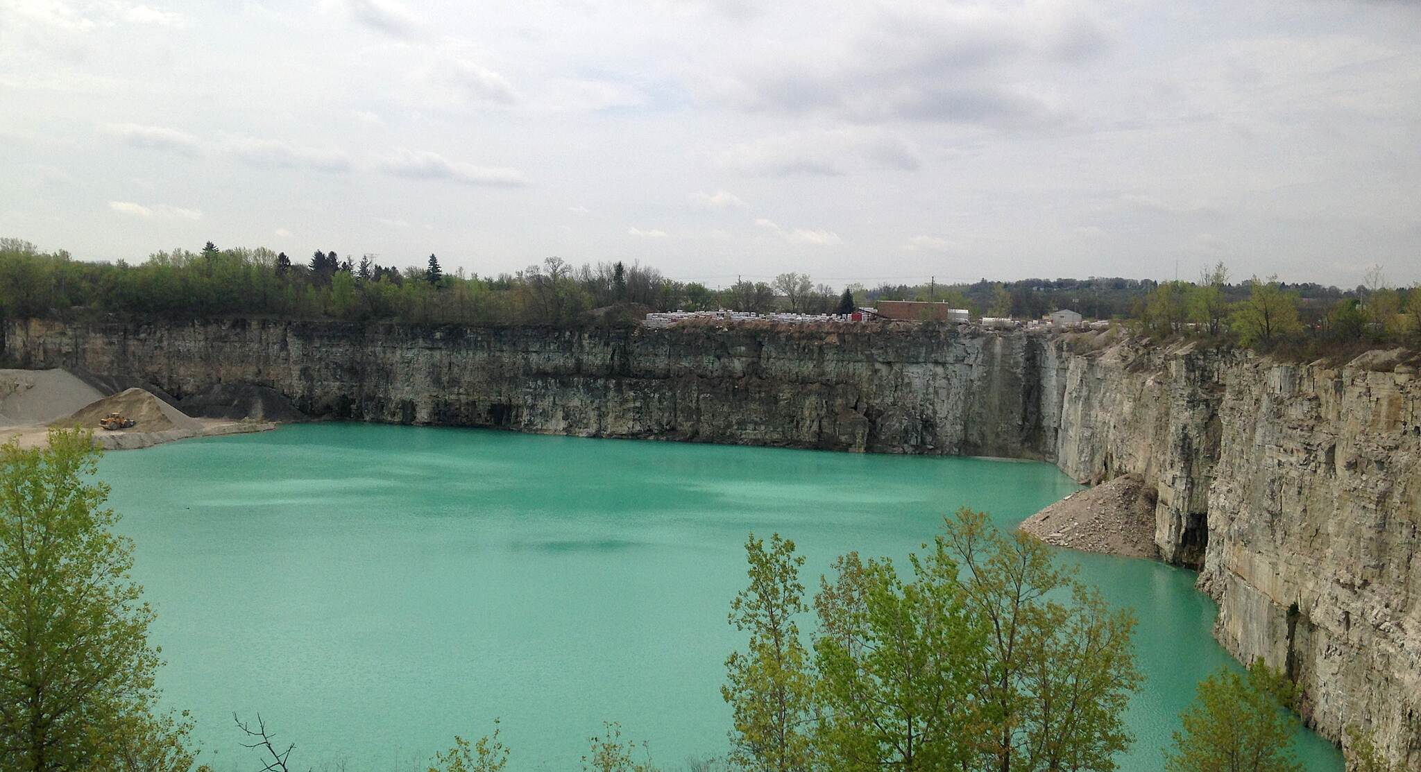 Bugline Trail Quarry Water