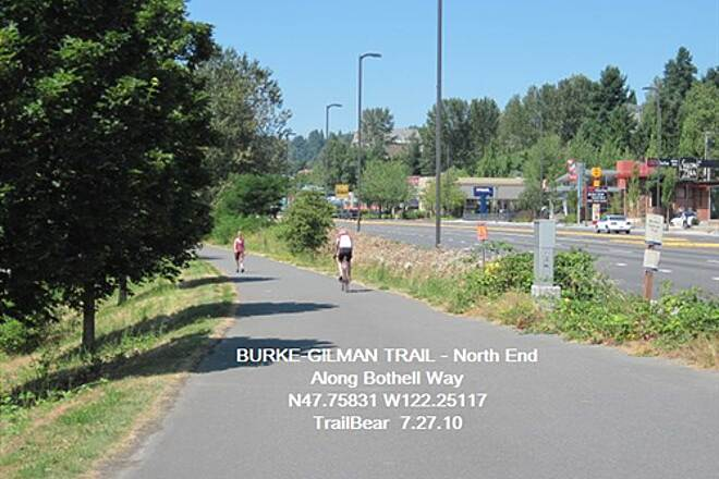 Burke-Gilman Trail BURKE-GILMAN TRAIL - North Along Bothell Way