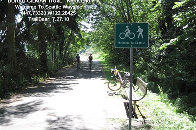Burke-Gilman Trail BURKE-GILMAN TRAIL - North Welcome to Seattle and wayside