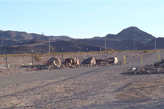 Burkholder Trail Burkholder Trail - Henderson, Nv. Trail view near SNWA water plant, River Mountains in background looking east.