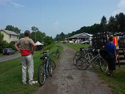 Butler-Freeport Community Trail Cabot  End of 2005 Sojourn Greenway tour