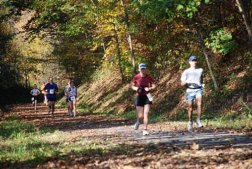 Butler-Freeport Community Trail BFCT Buffalo Creek Half Marathon The trail is popular with walkers and runners and hosts an annual fall half marathon