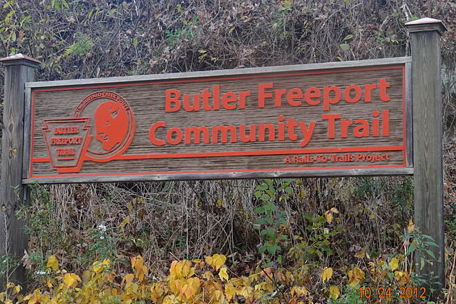 Butler-Freeport Community Trail 10/25/2012