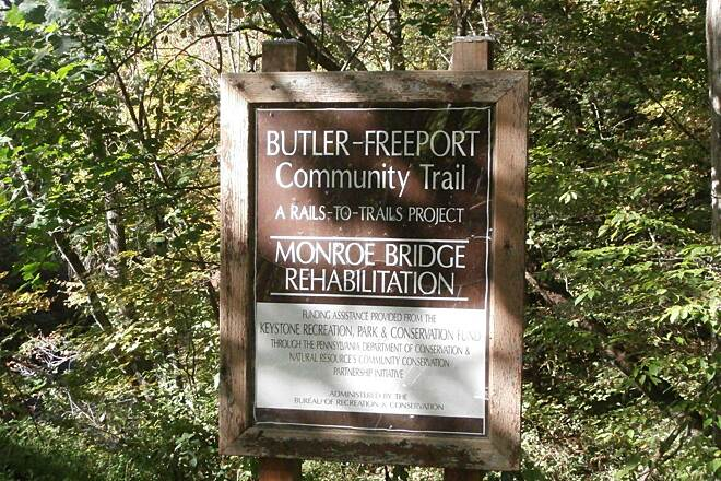 Butler-Freeport Community Trail Monroe Bridge Monroe Bridge Project