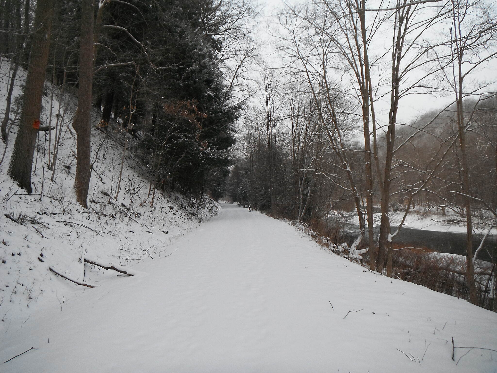 Butler-Freeport Community Trail Winter afternoon