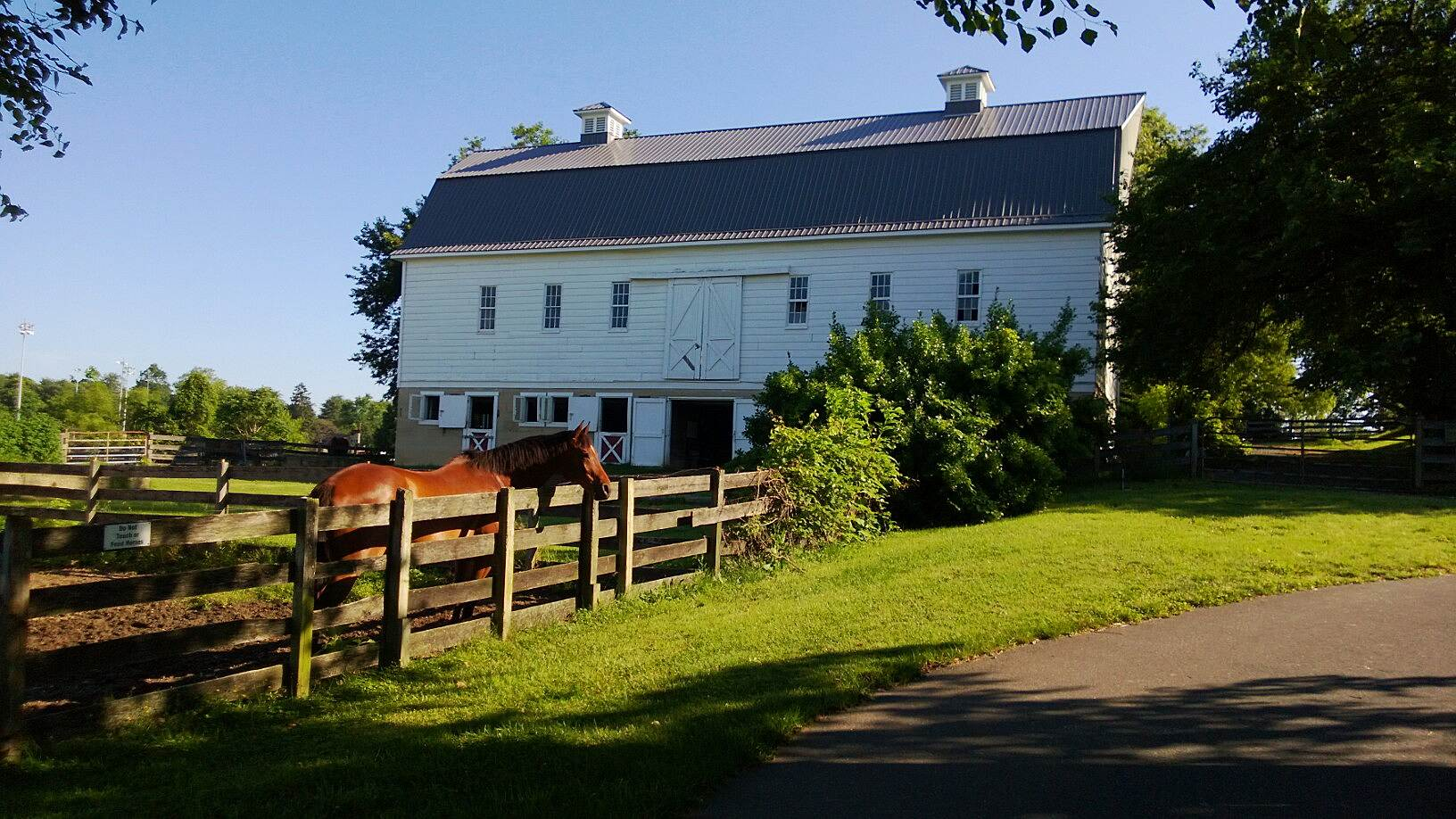 BWI Trail Farm house by the trail A still-in-use farm right by the trail side.