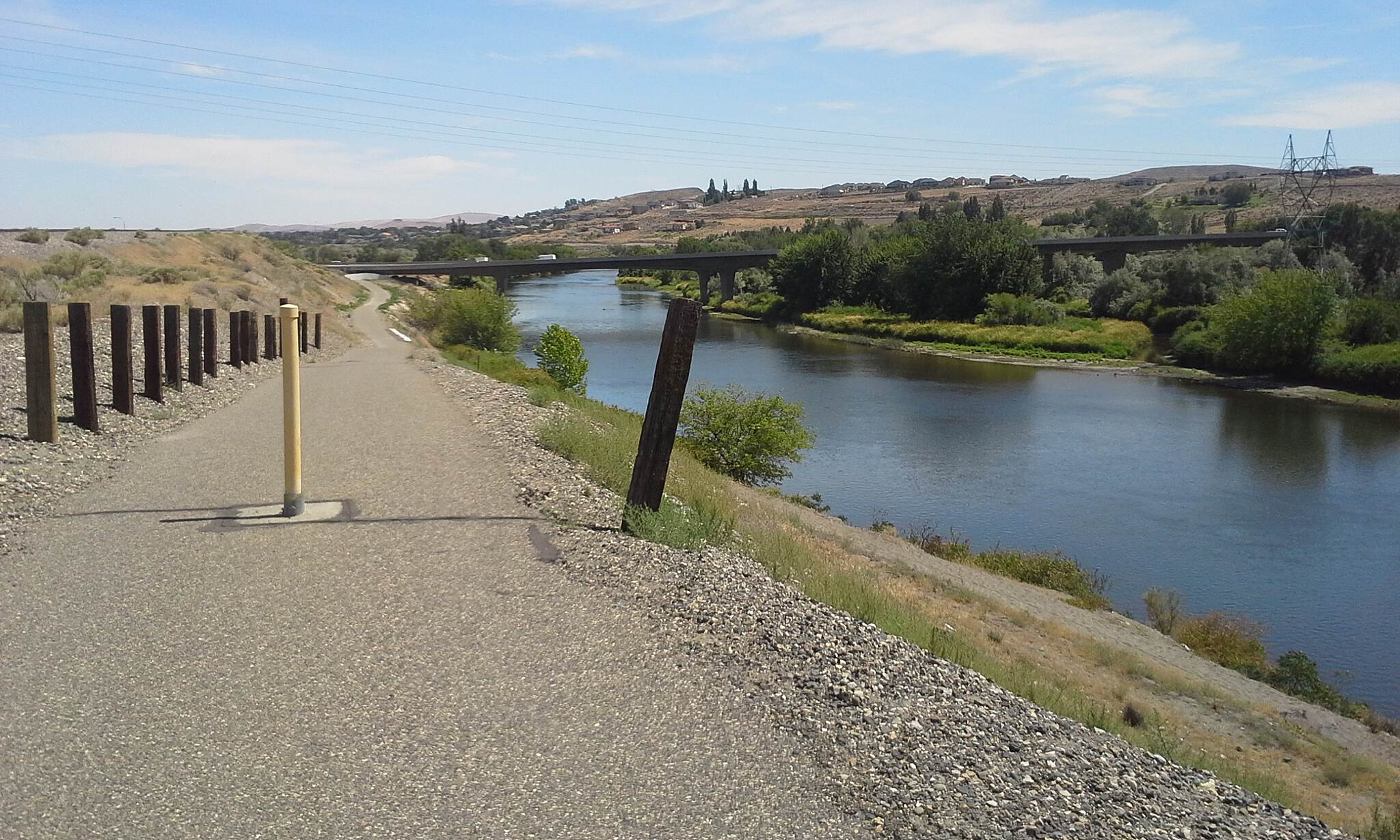 ByPass Shelterbelt Along the Yakima River Between Chamna Reserve and Duportail Streets.