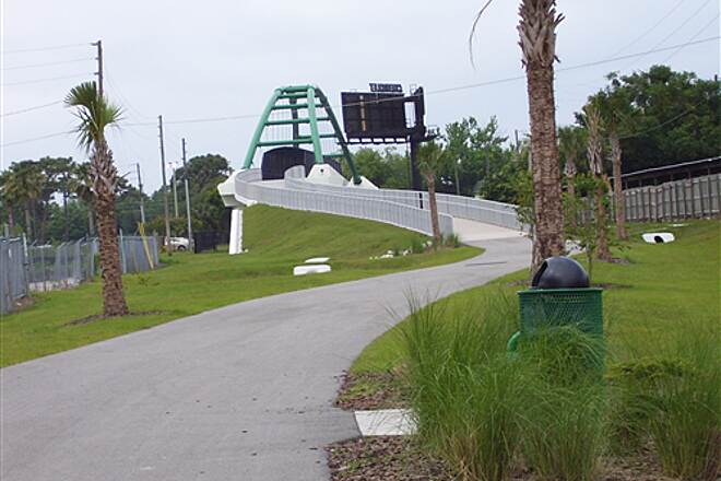 Cady Way Trail   New Bridge over 436.  April 20th 2008