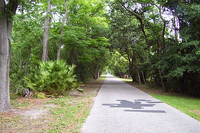 Cady Way Trail   On Trail in Winter Park neighborhood.  April 20th, 2008