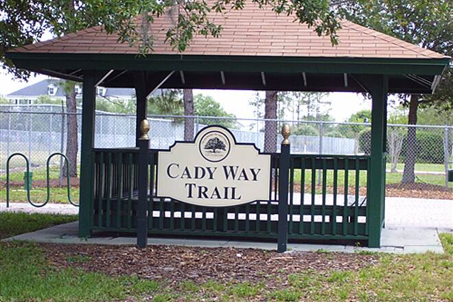 Cady Way Trail   Trailhead near Orlando Fashion Square.  April 20th 2008