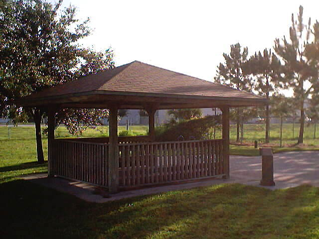 Cady Way Trail Trail Shelter Trail shelter at post office trail head.