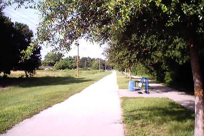 Cady Way Trail Trail Shot Shot of trail in residential neighborhood.