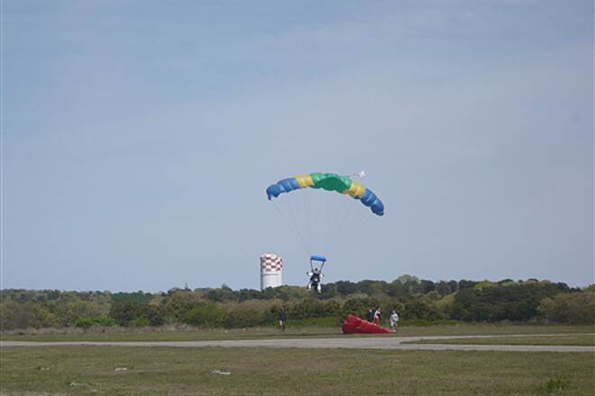 Cape Cod Rail Trail skydiving