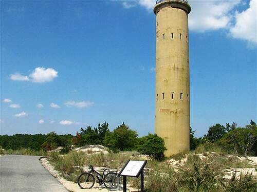 Cape Henlopen State Park Bike Loop Cape Henlopen State Park Scenic paved trail, nature and history