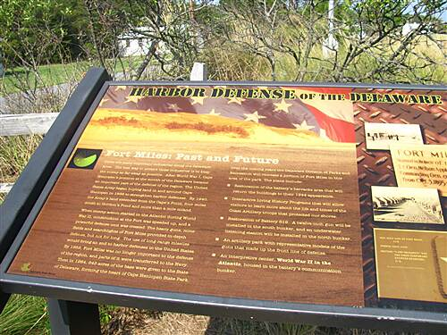 Cape Henlopen State Park Bike Loop Cape Henlopen State Park Fort Miles WWII history