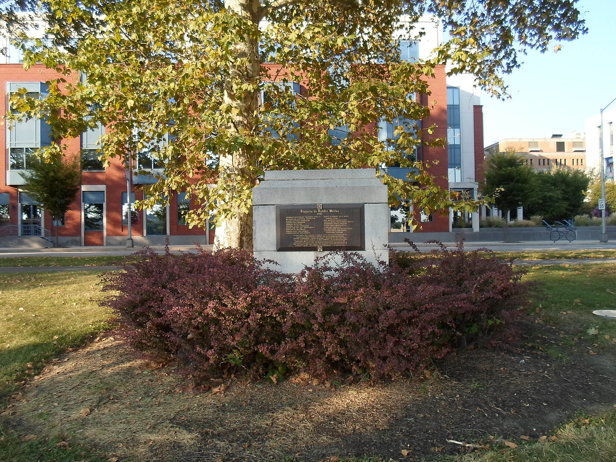 Capital Area Greenbelt Capital Area Greenbelt Another monument on the Harrisburg riverfront.